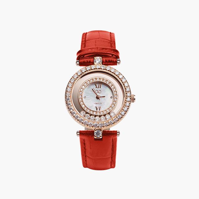 C&C  Dfeini红色舞钻腕表